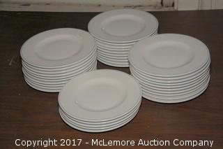 """Crate of 8"""" Ceramic Plates"""