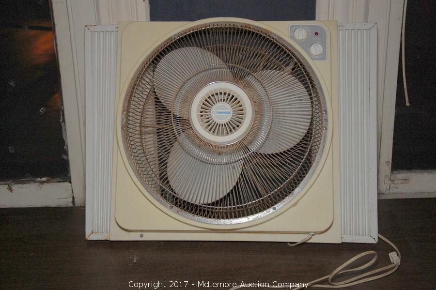 Mclemore auction company auction complete liquidation for 18 window fans