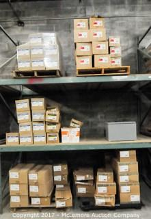 Contents of Shelving Section of Electrical Inventory and Components