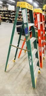 6 Foot Fiberglass Step Ladder