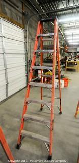 8 Foot Fiberglass Step Ladder
