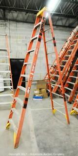 10 Foot Fiberglass Step Ladder