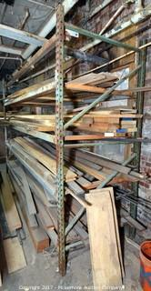 Pallet Rack with Lumber