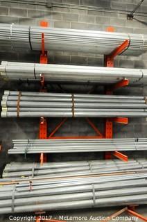 MHE Cantilever Heavy Duty Industrial I-Beam Metal Rack