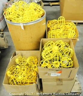 Pallet of Plastic Light Cages