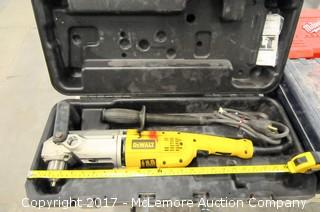 DeWalt Angle Drill with Case
