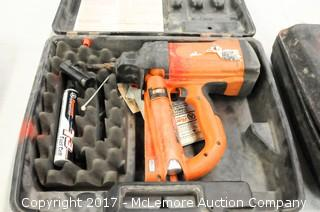 Ramset T3 Gas Actuated Fastener Tool with Case