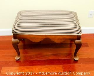 Upholstered Bench With Wooden Frame