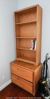 Book Shelf and File Cabinet