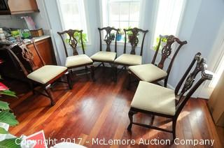 6 Cherry Dining Chairs