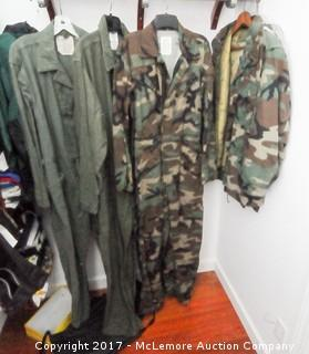 Camo Clothing and Child Overalls