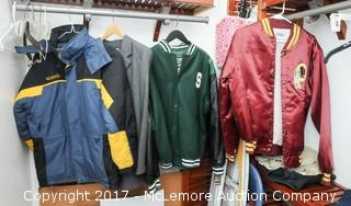 Columbia Jacket, Washington Redskin Jacket, Spartan Jacket
