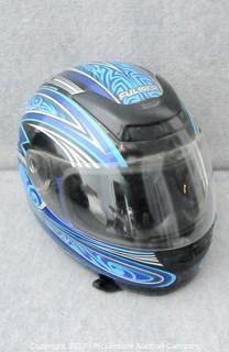 Fulmer Full Face Motorcycle Helmet Size XL