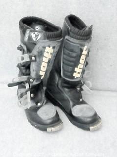 Thor Motorcycle Boots Size 6