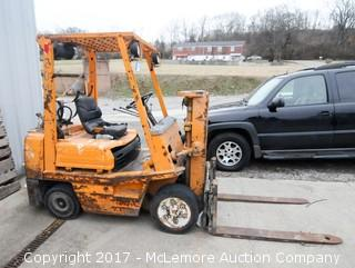 Toyota Propane Powered Forklift with Hercules 2.7 Engine