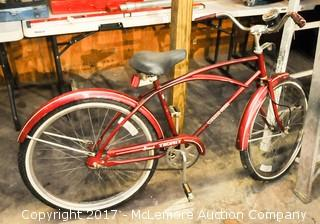 Western Flyer Grand Trophy Coca Cola Promotional Bicycle