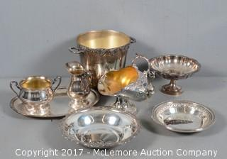 Collection of Silverplate Items from Various Manufactueres