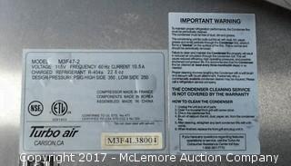 M3 Turbo Air Freezer