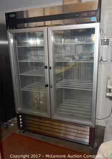 Norlake AdvantEDGE Full Glass Door Reach-In Refrigerator