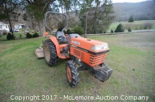 2000 Kubota L2600DT 4WD Tractor - Bushhog Not Included