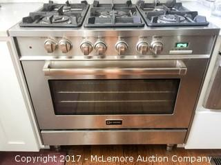 Verona 5 Burner Natural Gas Stove and Oven