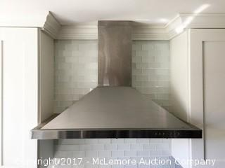 Stainless Steel Stove Vent Fan and Hood