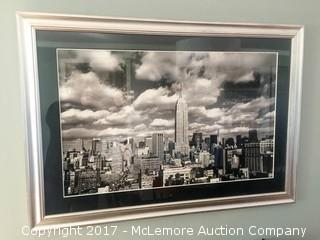 New York Skyline Picture with Frame