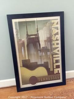 Nashville Buildings Picture with Frame