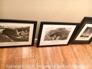 Set of 3 Ansel Adams Prints