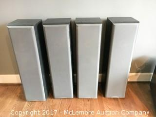 Set of 4 Sony Floorstanding Speakers - Model No. SS-MF550H