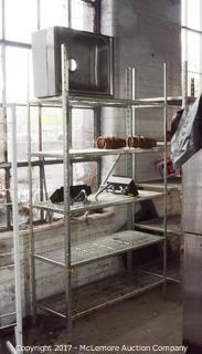 Dura Span Metal Shelving with Contents
