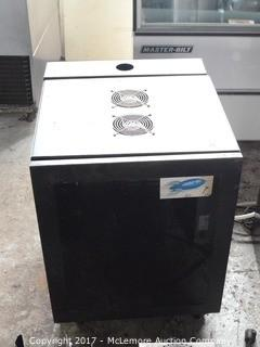 Server Cabinet with Cooling Fans