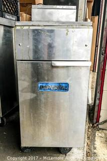 Imperial Deep Fryer On Casters