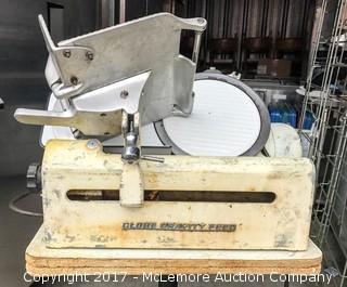 Globe Gravity Feed Electric Meat Slicer