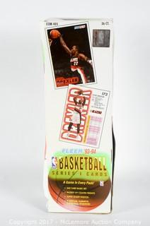 Fleer 1993-94 Basketball Series One Basketball Cards Case Including 240 Cards