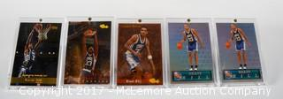 5 1994 Classic Series Grant Hill Basketball Cards All Framed In Lucite