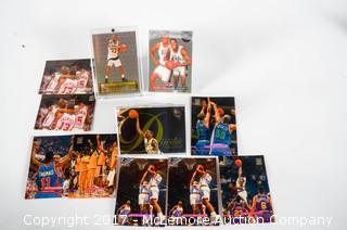 Two Rare Sets And Two Rare Basketball Trading Cards From Various Companies