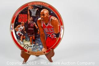 Bradford Exchange Limited-Edition Michael Jordan Collectors Plate