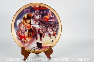 Bradford Exchange Limited Edition Michael Jordan Collectors Plate