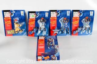 Five Shaq Attack Action Figures