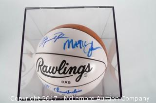 Signed Rawlings Basketball
