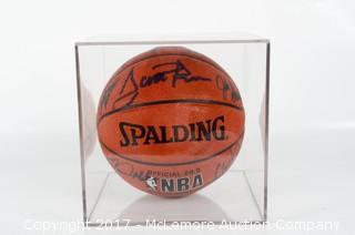"Signed ""Dream Team II"" Spaulding Official NBA Indoor Outdoor Basketball"