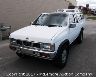 1993 Nissan King Cab SE 3.0L V6 OHV 12V Engine