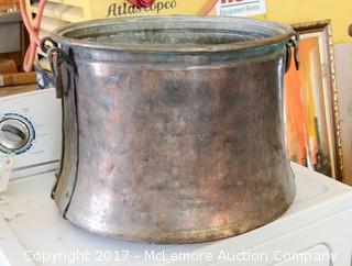 Copper Garden Pot