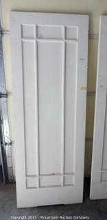 9 Glass Panel Door
