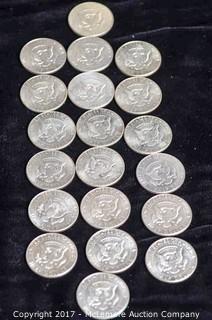 20 - 1967 Kennedy Silver Half Dollars