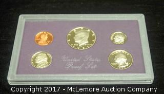 1987 United States Proof Set in Case