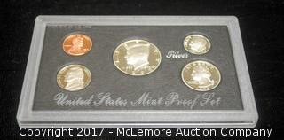 1992 United States Mint Silver Proof Set in Case