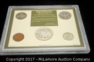 World War I Coin & Stamp Collection Set