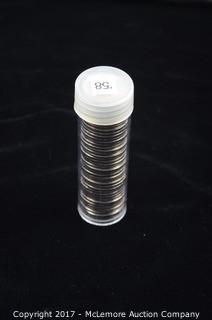 41 - 1958 Jefferson Nickels